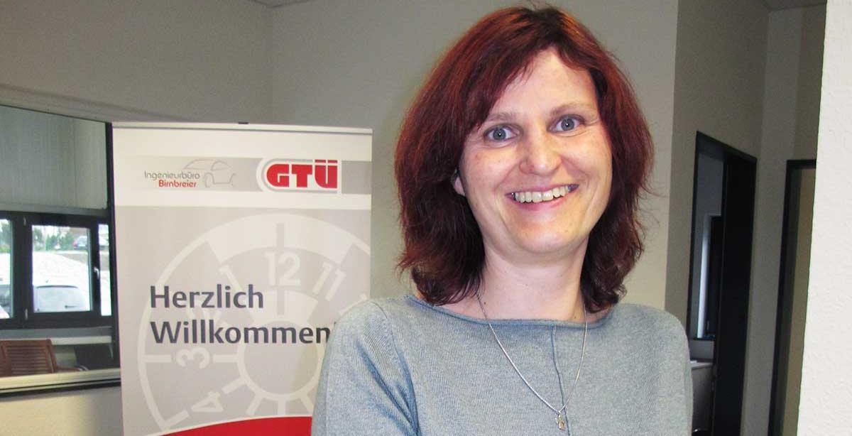 Frau Karin Birnbreier, Verwaltungskraft – Ingenieurbüro Birnbreier