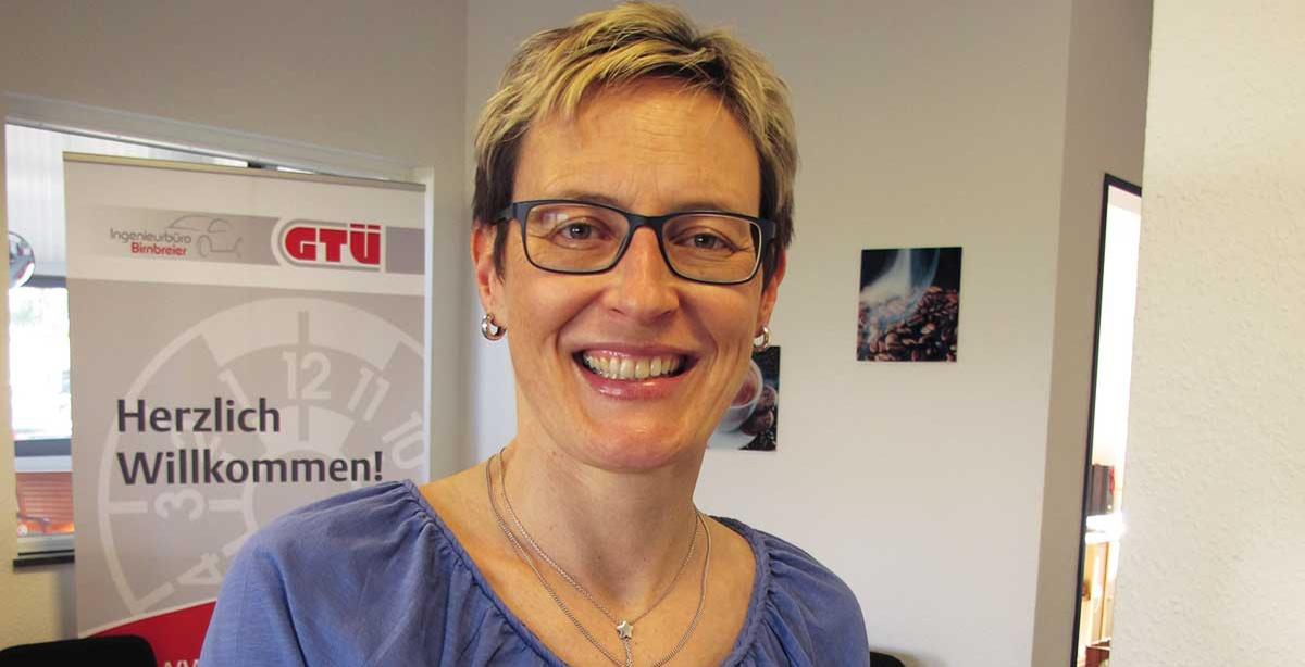 Frau Ingrid Schoch, Verwaltungskraft – Ingenieurbüro Birnbreier